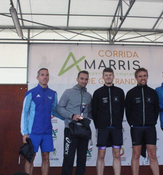 Podium course Corrida Amarris
