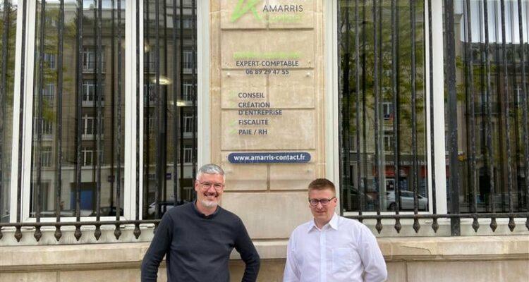 Damien Grancher, expert comptable Amarris Contact Le Havre