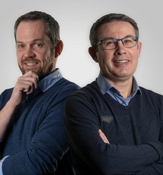 Christophe et David, experts comptables Amarris Contact Saint Herblain